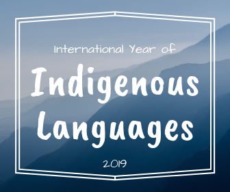 Indigenous Languages year blog graphic
