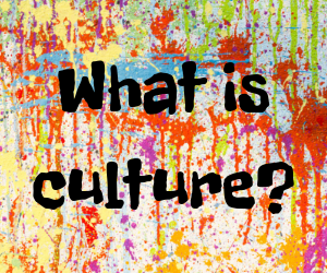 Link to post on what is culture